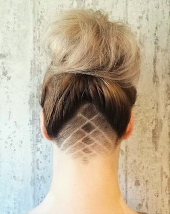Pin Auf Undercut Women Hairstyles