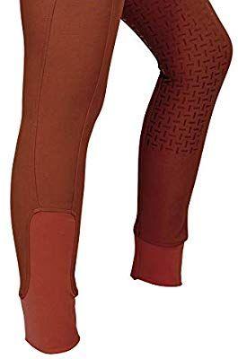 RIDERS CHOICE Damen Reitleggings mit Silikonvollbesatz und Handytasche RidersDeal Collection f/ür Reiter Silver Design