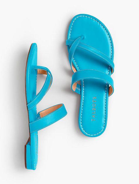 ab54e8aba86 Gia Toe-Ring Sandals - Soft Nappa