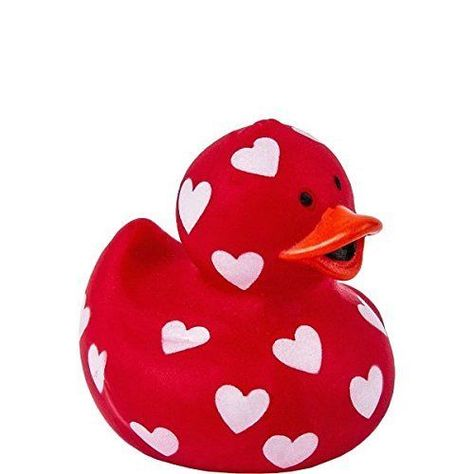 Valentines Rubber Ducks Pack of 2