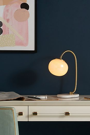 Lemieux Et Cie Meudon Table Lamp Anthropologie In 2020 Task Lamps Lamp Led Table Lamp