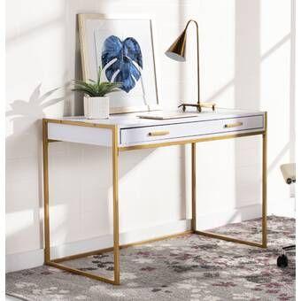 Interlude Morand Writing Desk Wayfair