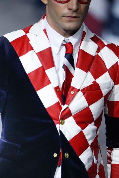 Moncler Gamme Bleu / Fall 2015 Menswear  photo: Gianni Pucci / Indigitalimages.com