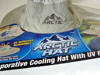 Arctic Hat Evaporative Cooling Brimmed One Size As Seen On In