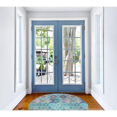 Dakota Fields Aztec Indoor Door Mat Wayfair In 2020 Indoor Door Mats Installing French Doors French Doors Interior