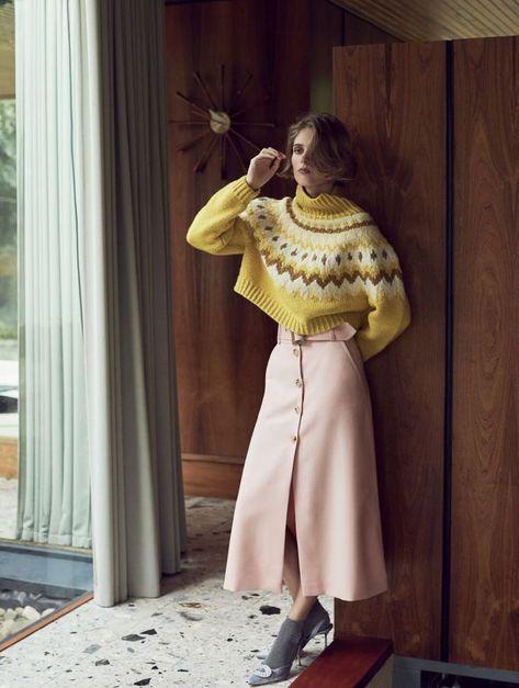 Red Magazine November 2017 Mariska van der Zee by Chloe Mallett - Fashion Editorials