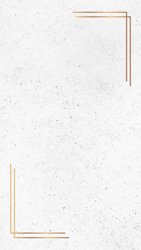 Gold frame on white marble  background vector | premium image by rawpixel.com / sasi #vector #vectorart