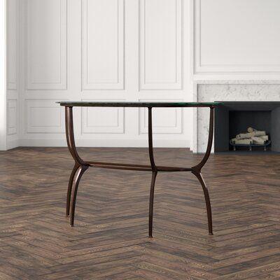 Artistica Home Metal Designs Console Table In 2020 Console Table