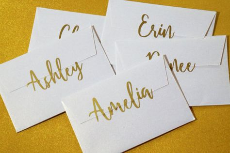 Personalized Name Sticker Wedding Invitation Seal Paper