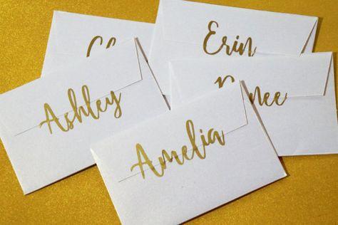 Personalized Name Sticker Wedding Invitation Seal Paper