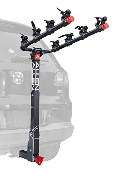 Allen Sports Deluxe Hitch Mounted Bike Rack Review Hitch Mount