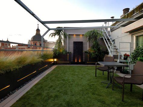 Una Terraza ático Para Disfrutar Del Cielo De Madrid