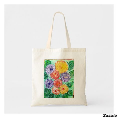 Create Your Own Tote Bag Zazzle Co Uk Mis Florecitas