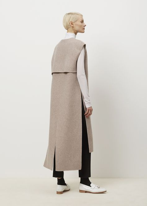 Acne Studios Vento Coat (Beige Melange)