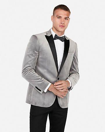 slim light gray velvet tuxedo jacket | Velvet suit jacket, Velvet suit,  Mens suit jacket