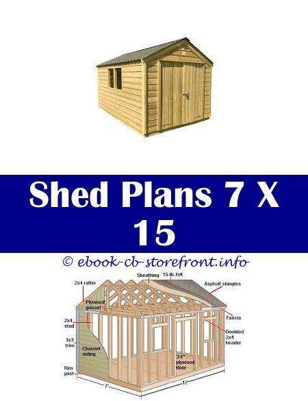 Pin Su Easy Diy Shed Plans