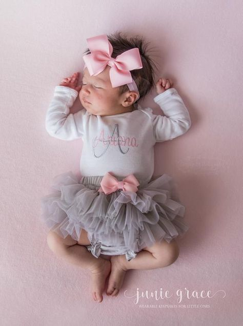 Newborn Girl Coming Home Outfit Baby Girl Clothes Baby Girl | Etsy