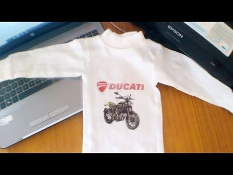 1582ce3ac How to Print T-shirt without transfer paper on inkjet printer - YouTube