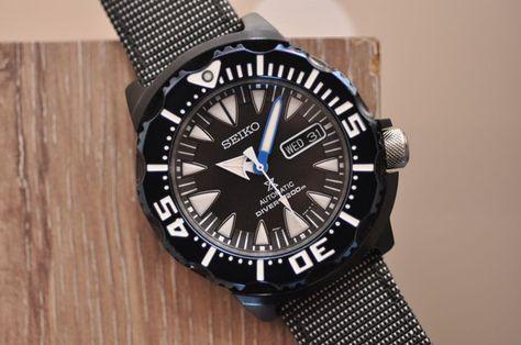 d83abce3d5edd3 Seiko Prospex Air Diver 200M Monster 50. Jarig jubileum Gebruikte  voorwaardeModel SRP583K1Verkeer automatische 4R36 kaliberArmband