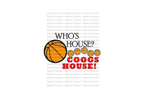 Digital SVG, University of Houston Cougars, March Madness, Final Four, College Basketball, Houston Coogs, U of H svg pdf png jpg, cricut