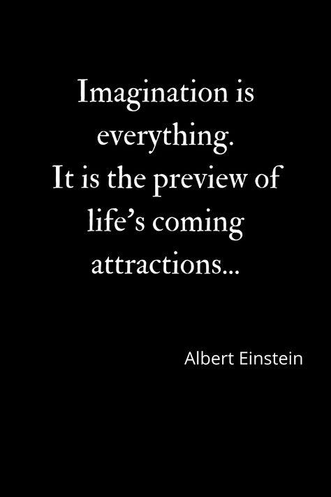 Imagination is power...