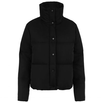 Castor down jacket, jet black Fleischer Couture