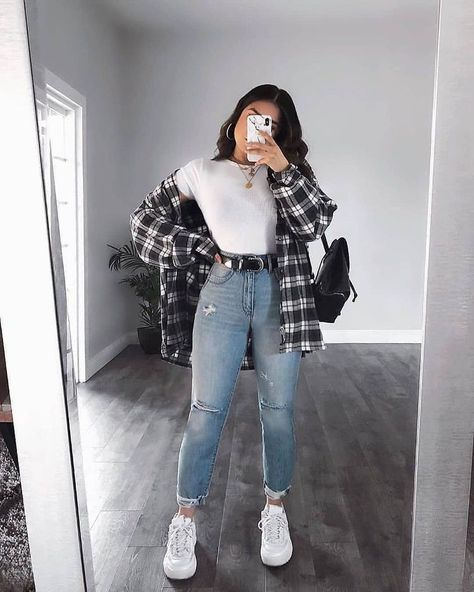 Trendy Fall Outfits, Cute Comfy Outfits, Winter Fashion Outfits, Retro Outfits, Look Fashion, Stylish Outfits, Vintage Outfits, Summer Outfits, Uni Outfits