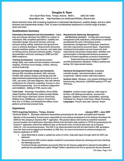 cool Create Your Astonishing Business Analyst Resume and Gain the - bsa analyst sample resume