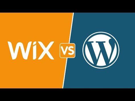 (2) Wix vs WordPress | Choose the Best Website Builder 2019! - YouTube