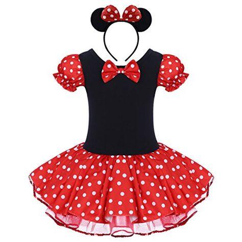 b90c1b2d3e45 FYMNSI Baby Girls Polka Dots Princess Ballet Tutu Dress with ...