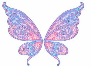Pink And Blue Butterfly Illustration Tinker Bell Tooth Fairy Fairy Wings Background Transparent Background Png C Fairy Wings Drawing Wings Drawing Wings Png