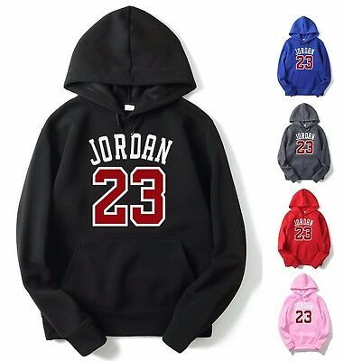 2019 NEW Michael Air Legend 23 Jordan Mens Hoodie Sweatshirts Sportswear Fashion