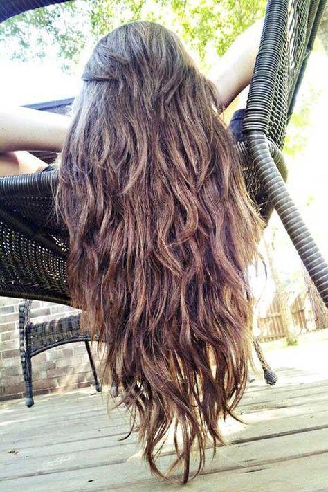 Nuevos cortes de cabello largo