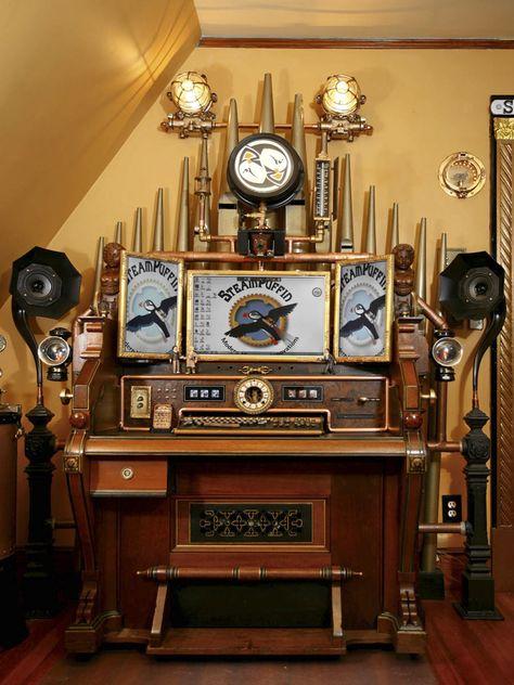 steampunk room decor.htm steampunk organ www neantiqueshows com newsite steampunk  steampunk organ www