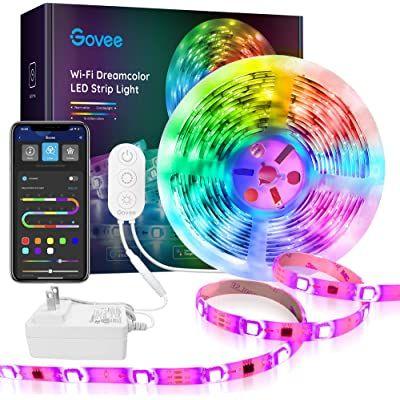 Amazon Com Lumoonosity Led Strip Lights Waterproof 16 4ft 12v Flexible Led Light Strips Kit Rgb Led Strip Lighting Strip Lighting Led Color Changing Lights