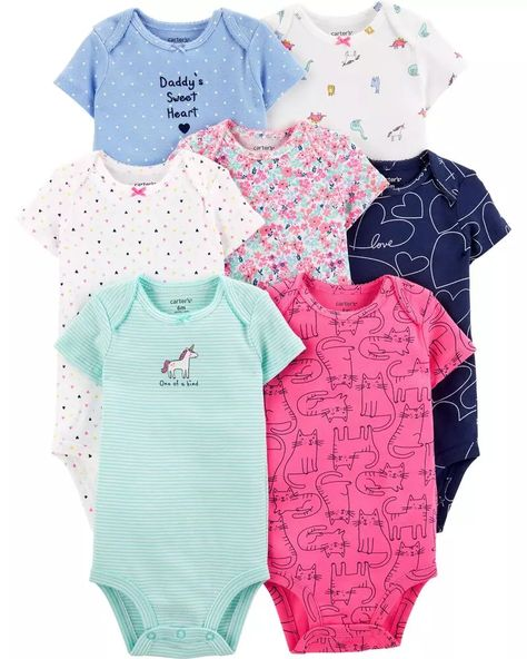 Simple Joys by Carters Bimba 0-24 2-pack Short-sleeve and Sleeveless Dress Sets