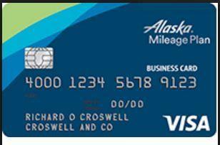 Alaska Airlines Visa Business Card Online Login How To Apply Business Credit Cards Credit Card Benefits Alaska Airlines