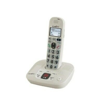 Ad Ebay Link Clarity D712 Dect Cordless Phone White Caller Id Backlight Caller Id Phone Clarity