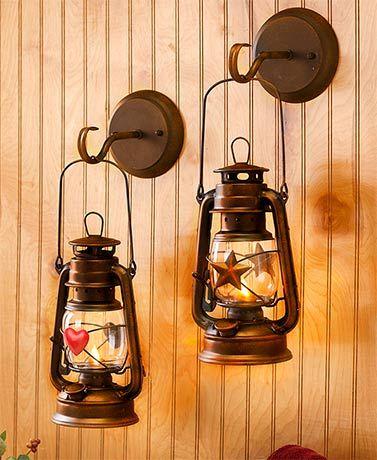 Lone Star Hurricane lantern Electric