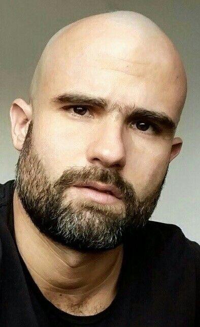 Check Out Beardedmoney For Your Bearded Apparels And Beard Care Products Nice Beard Follow B Bald Men With Beards Bald With Beard Beard Styles Bald