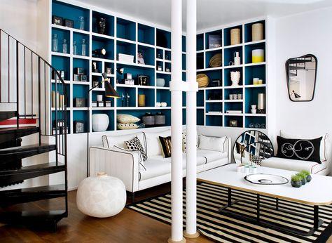 Aménager un coin lecture qui vous ressemble Salons, Living rooms - faire une chambre dans un salon