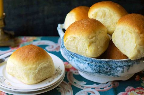 Amish Dinner Rolls | King Arthur Baking: Soft, moist potato rolls, packed with buttery, yeasty flavor.