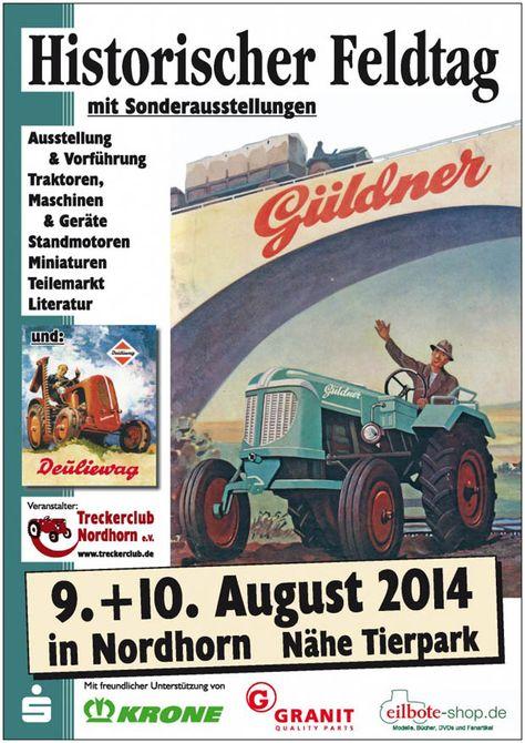 Historischer Feldtag in Nordhorn 2014
