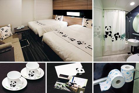 Panda Room@Mitsui Garden Hotels, Ueno, Tokyo, Japan