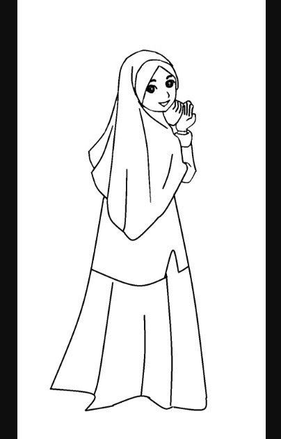 23 Gambar Kartun Muslimah Lucu Hitam Putih Lukisan Kartun Muslimah Cikimm Com Download Gambar Kartun Anime Hitam Putih Kata Ka Kartun Gambar Kartun Gambar