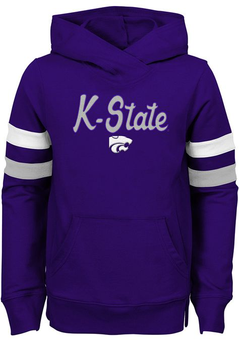 K State Wildcats Girls Purple Claim to Fame Long Sleeve