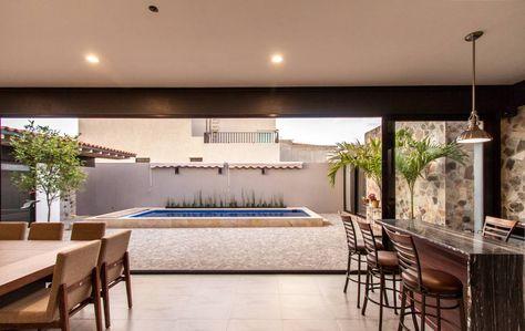 Casa Paulin Balcones Y Terrazas Modernos De Cambio De Plano