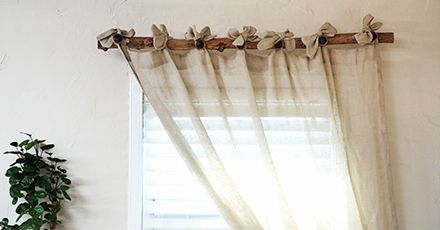 Branch Curtain Rod In 2020 Branch Curtain Rods Curtain Rods