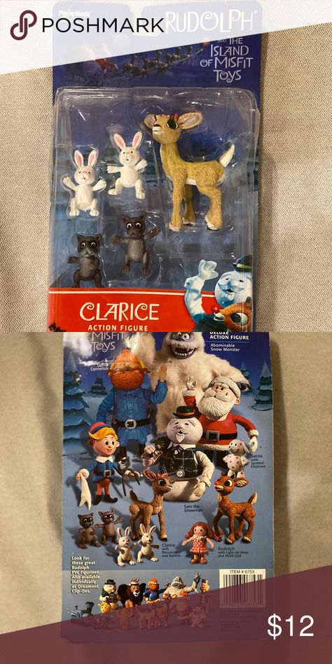 Rudolph/island of misfits Clarice figurine New in package, Clarice figure from 1999. Holiday