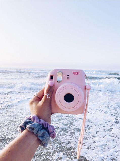 camera settings,photo editing,camera display,photo filters,camera effects Beach Aesthetic, Summer Aesthetic, Aesthetic Photo, Aesthetic Pictures, Vsco Pictures, Polaroid Pictures, Vsco Pics, Instax Mini Camera, Pink Polaroid Camera
